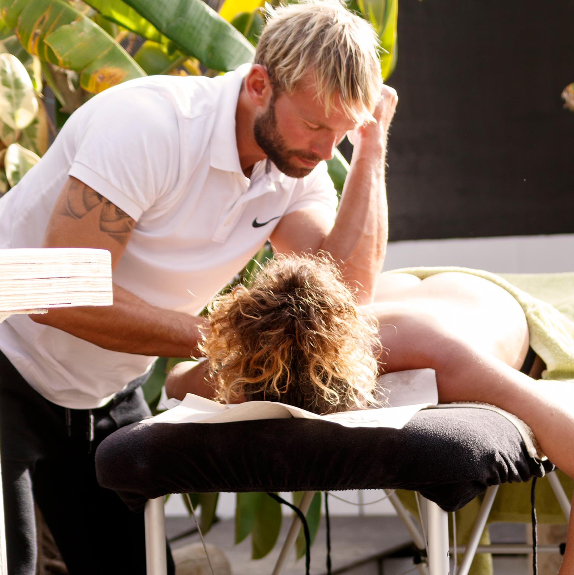 Kitesurfing Sport Massage Tarifa