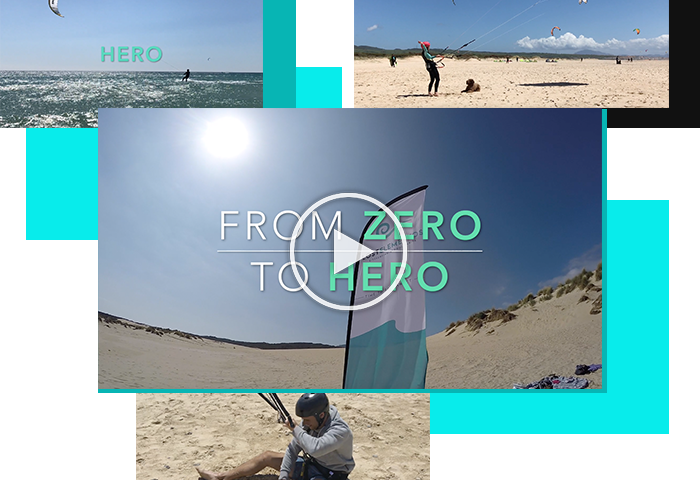 FUL KITESURFING COURSE IN TARIFA VIDEO